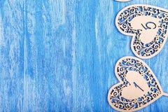 Épouser le nombre en bois Photos libres de droits