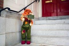 Épouvantail de Halloween photos libres de droits