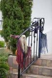 Épouvantails pour Halloween Photo libre de droits