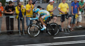 Épreuve 2010 - Rotterdam de temps de prologue de Tour de France Photographie stock libre de droits