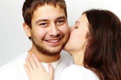 Épreuve de l'amour Image libre de droits