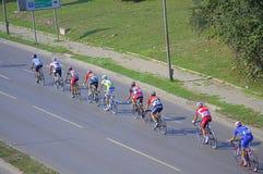 Épreuve sur route de bicyclette Photographie stock