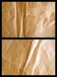 Épuisé le papier 3 de colis Photo libre de droits