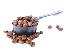 Épuisette de café photo libre de droits