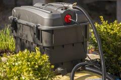 Épurateur de l'eau d'étang photo stock