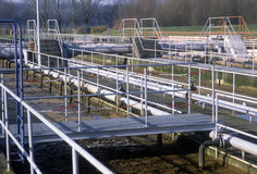 Épurateur de l'eau d'usine en Allemagne Image stock