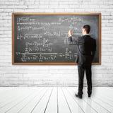Équation financière Photos libres de droits