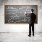 Équation financière Photos stock