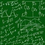 Équations et formules mathématiques illustration de vecteur