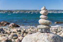 Équilibrage de roche Image libre de droits