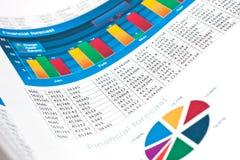 Équilibrage des comptes Photographie stock