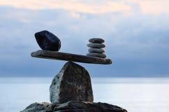 équilibration Photographie stock