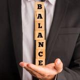 équilibre Photos stock