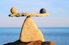 Équilibre conceptuel Images libres de droits