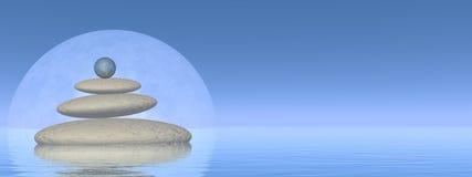 Équilibre - 3D rendent Images libres de droits