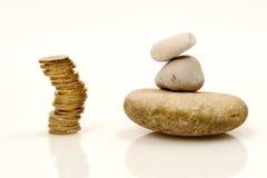 Équilibre financier image libre de droits