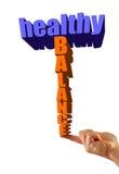 Équilibre sain illustration stock