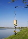 Équipé d'une amorce pour la carpe, tehnoplankton Images stock