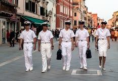 Équipage de carlingue, Venise Image stock