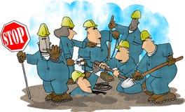 Équipage de construction Image libre de droits