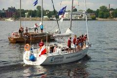 Équipage du bateau Photographie stock libre de droits