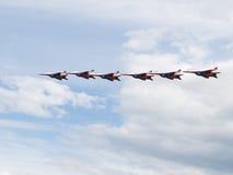 Équipe acrobatique aérienne Swifts Images libres de droits