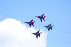 Équipe acrobatique aérienne Swifts Photos stock