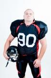 équipe américaine de joueur de football de vêtement Photographie stock