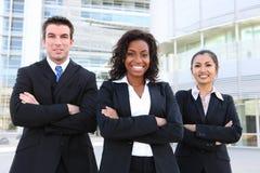 Équipe attirante diverse d'affaires Images stock
