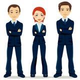 Équipe confiante d'affaires Images stock