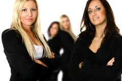 Équipe confiante d'affaires Photographie stock libre de droits