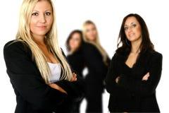 Équipe confiante d'affaires Image stock
