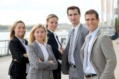 Équipe d'affaires Photographie stock