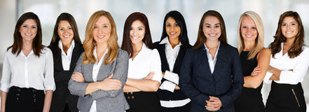 Équipe d'affaires au travail Image stock