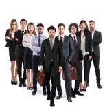 Équipe d'affaires d'entreprise image stock