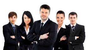 Équipe d'affaires d'isolement Image libre de droits