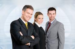 Équipe d'affaires dans le bureau Photographie stock libre de droits