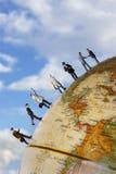 Équipe d'affaires globales Image libre de droits