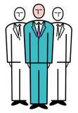 Équipe d'affaires. Illustration de vecteur illustration de vecteur