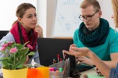 Équipe d'affaires travaillant sur le projet Photo libre de droits
