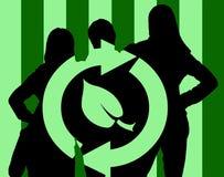 Équipe d'Eco illustration libre de droits