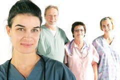 Équipe d'hôpital images libres de droits