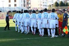 Équipe d'Olympique de Marseille Photographie stock