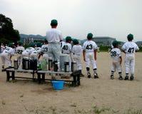 Équipe de baseball photographie stock libre de droits