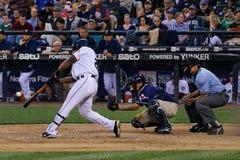 Équipe de baseball de marins d'Adrian Beltre photographie stock