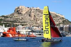 Équipe de Brunel de formation de catamarans de ProAM 32 Image libre de droits