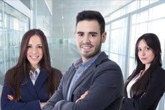 Équipe de cadres commerciaux images libres de droits