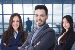 Équipe de cadres commerciaux photos stock