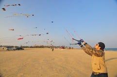Équipe de cerfs-volants de Buhamad Images stock