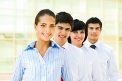 équipe de chef de file des affaires Image libre de droits